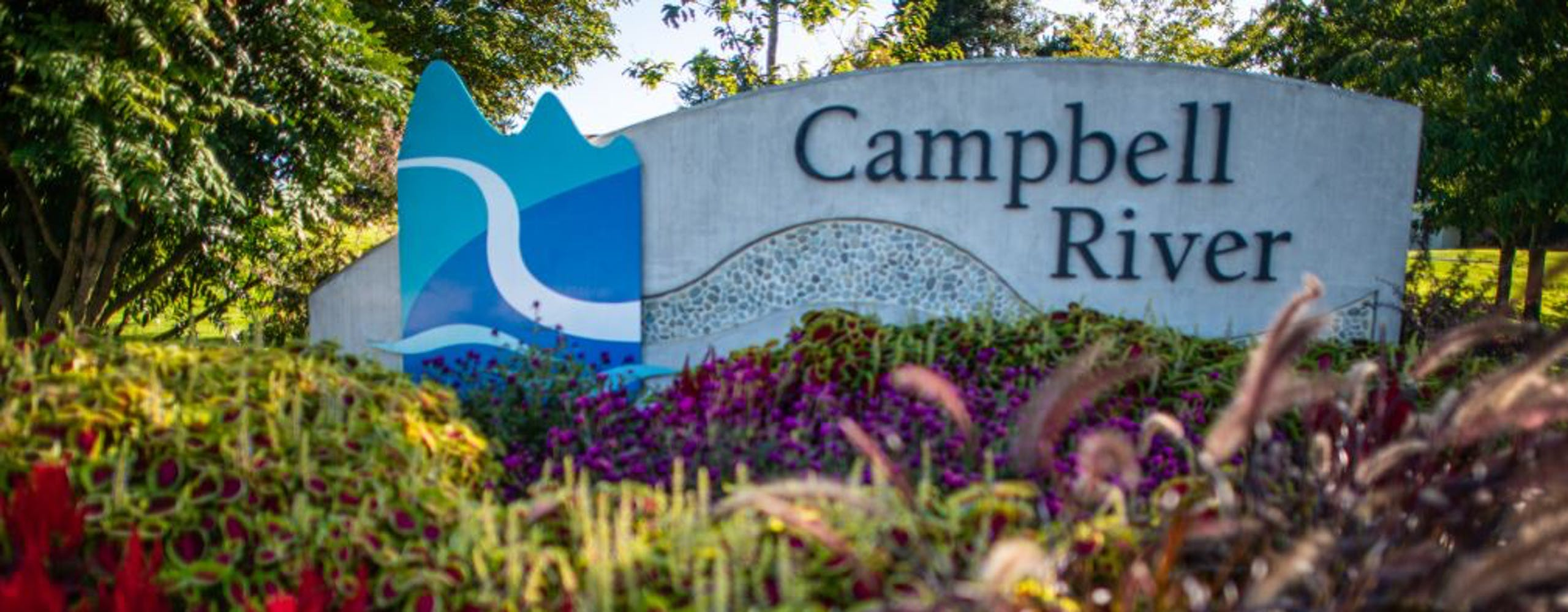 Photo of Campbell River Sign