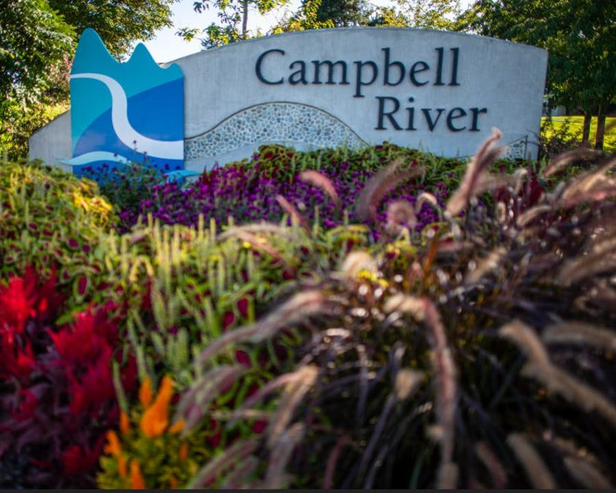 Campbell River Sign