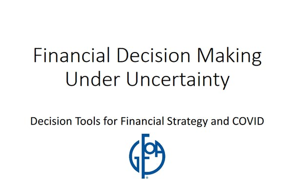 Financial Decision-Making Under Uncertainty