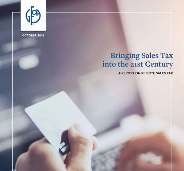 Bringing Sales Tax into the 21st Century