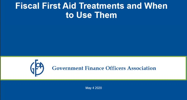 Fiscal First Aid Treatments and When to Use Them