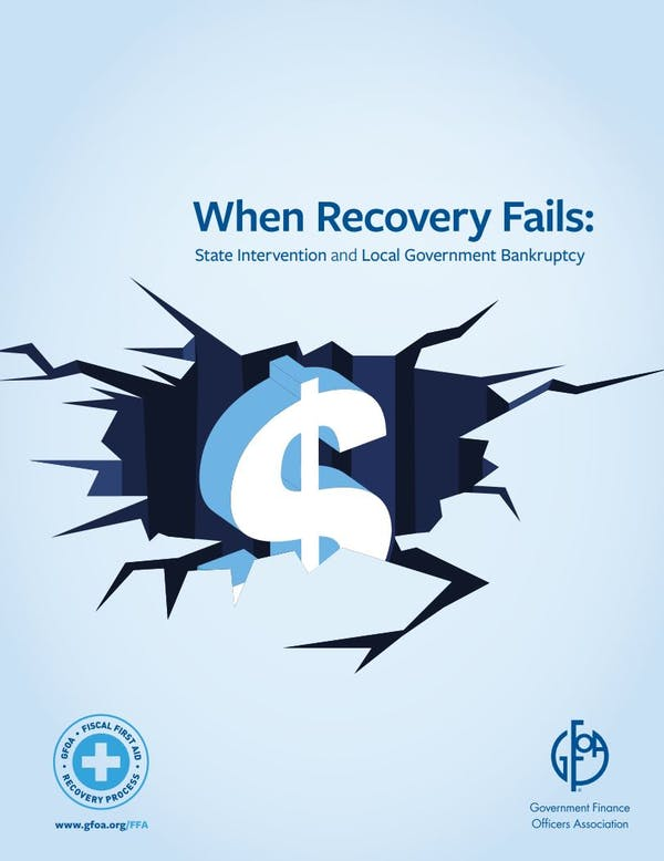 When Recovery Fails: State Intervention and Local Government Bankruptcy
