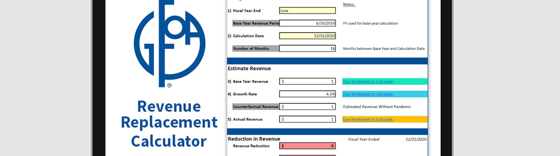 Revenue Replacement Calculator Photo