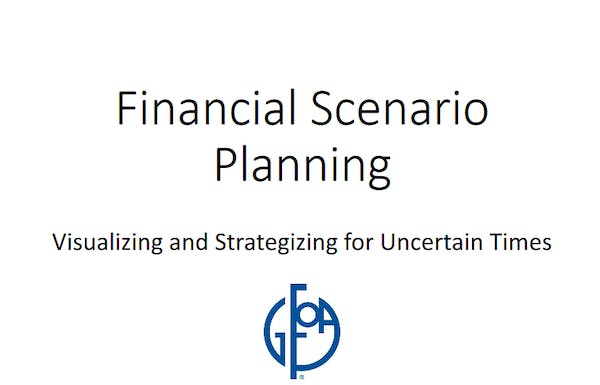Financial Scenario Planning: Visualizing and Strategizing for Uncertain Times
