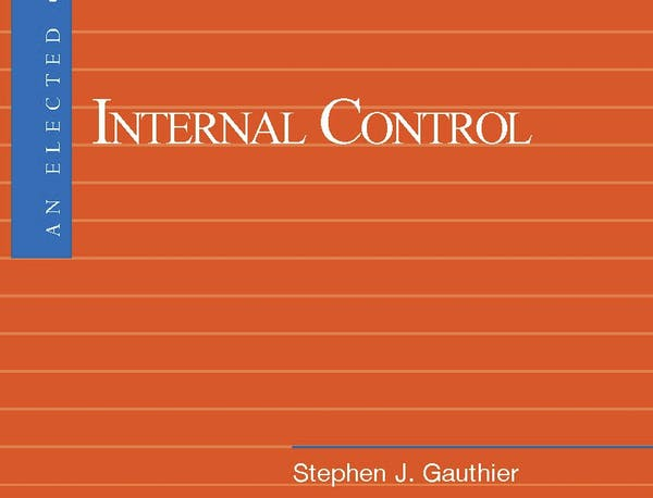 An Elected Official's Guide: Internal Control