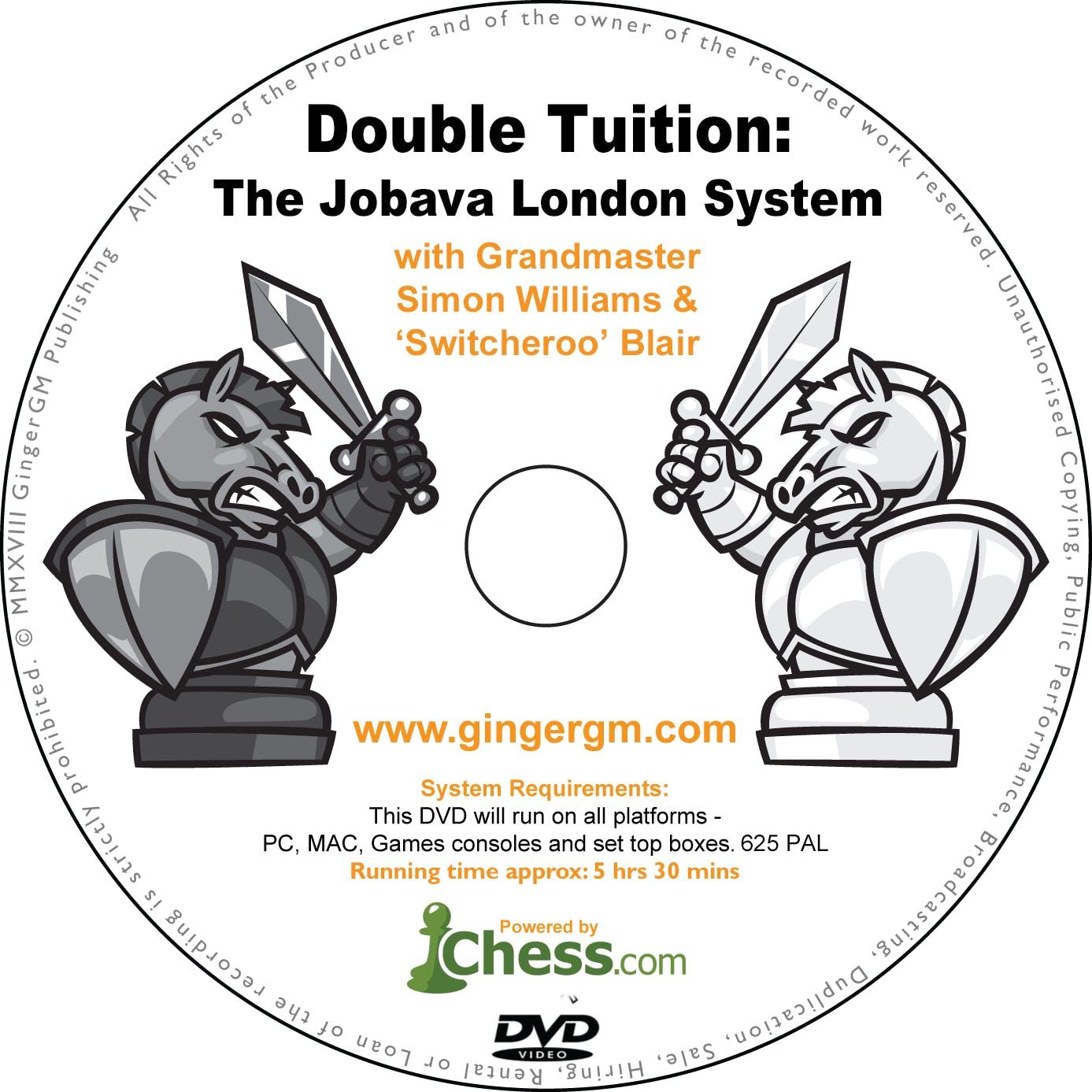 The Jobava London System   Ginger GM - Chess Grandmaster