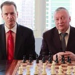 Anatoly Karpov and Ron Henley