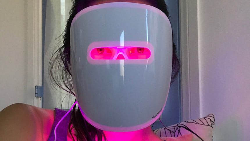 I Tried That Light Therapy Mask For 30 Days And My Skeptic Heart Melted