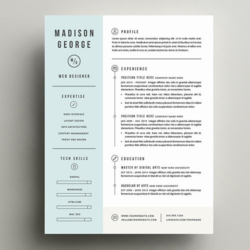 Cute Resume Templates from images.prismic.io