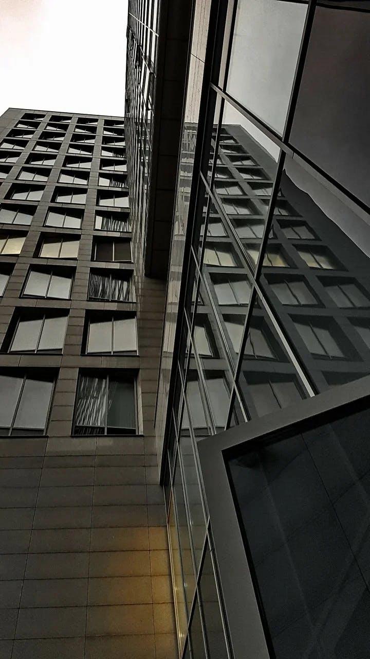 тонировка зданий