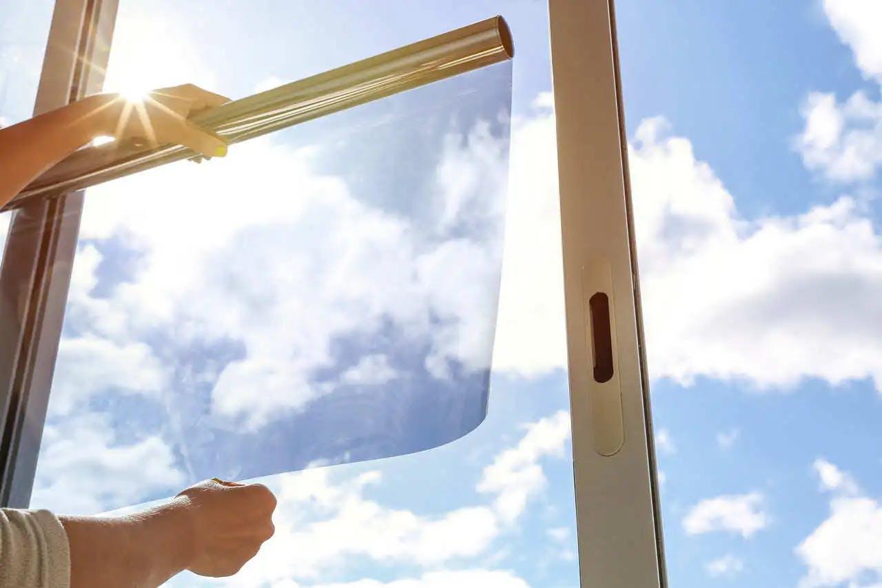 Тонировка оконного стекла