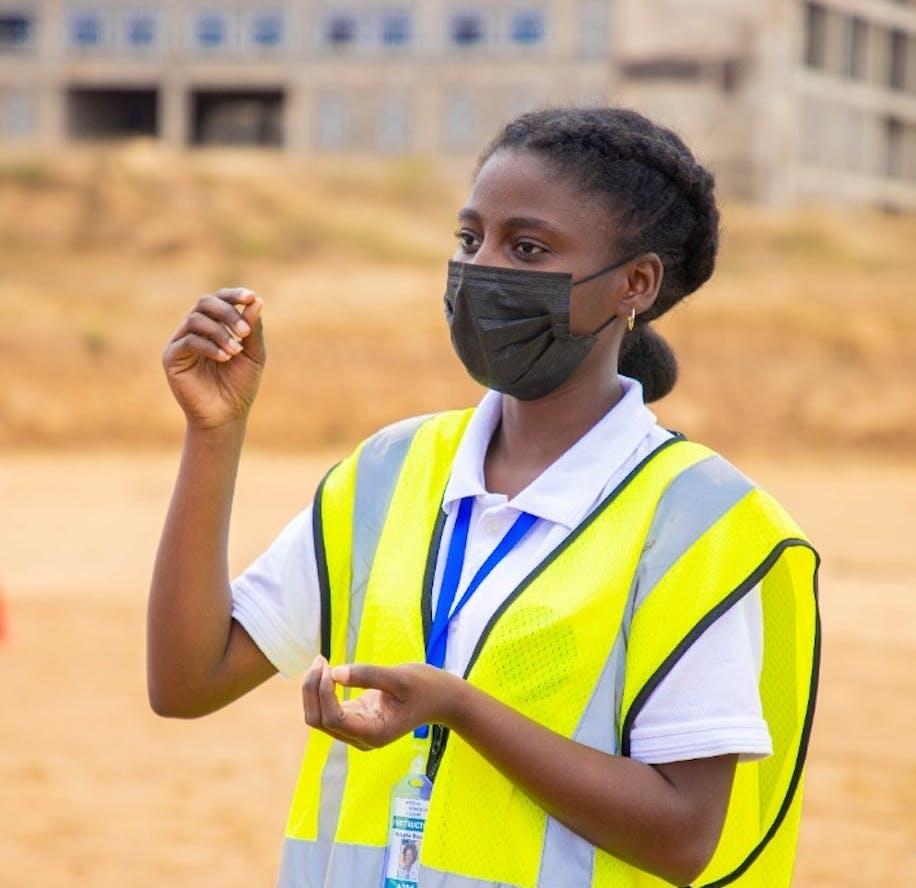 Ndapile Mkuwu drone pilot