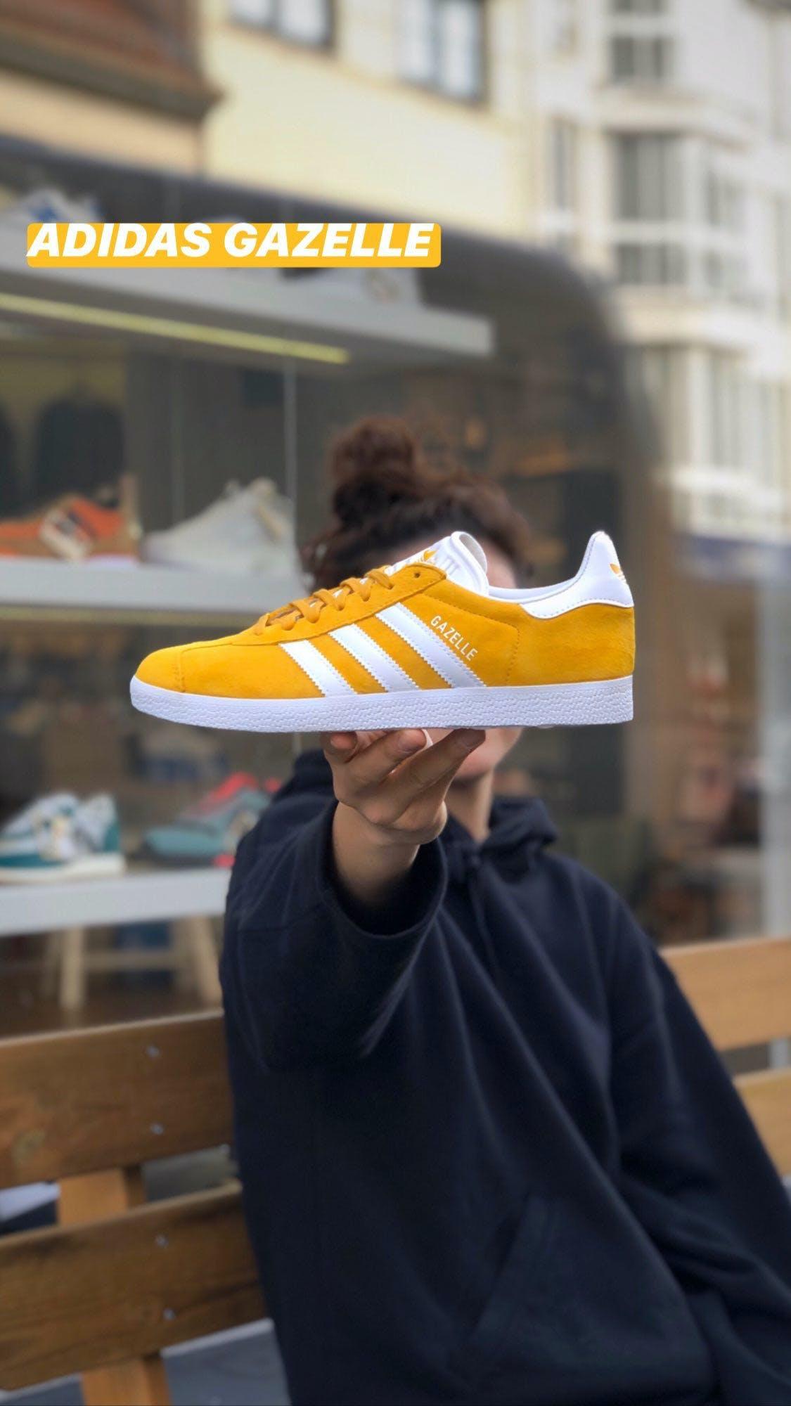 Adidas Gazelle Yellow - Sizerun 36 - 44
