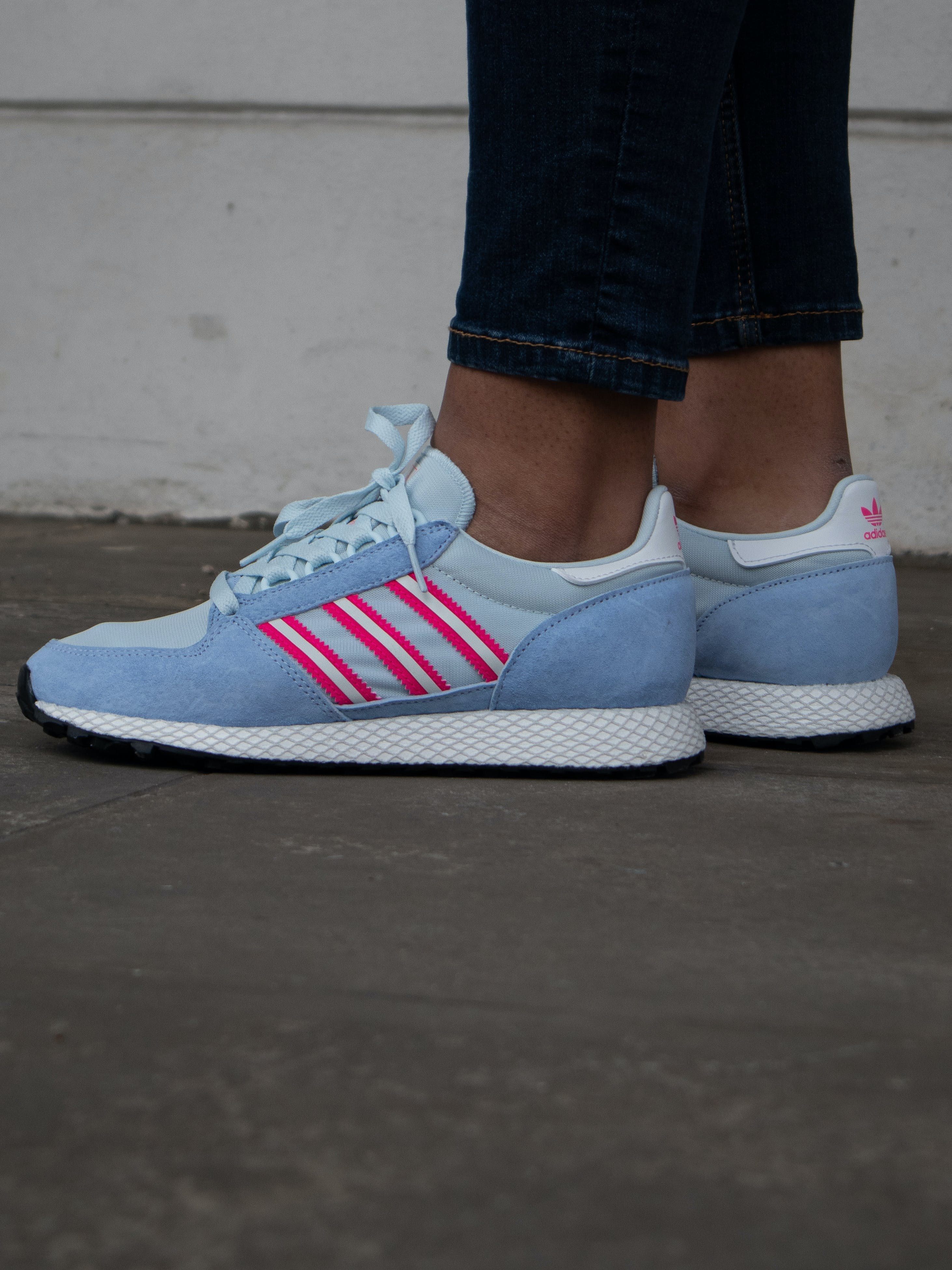 Adidas Forest Grove Periwinkle - Sizerun 36 - 42
