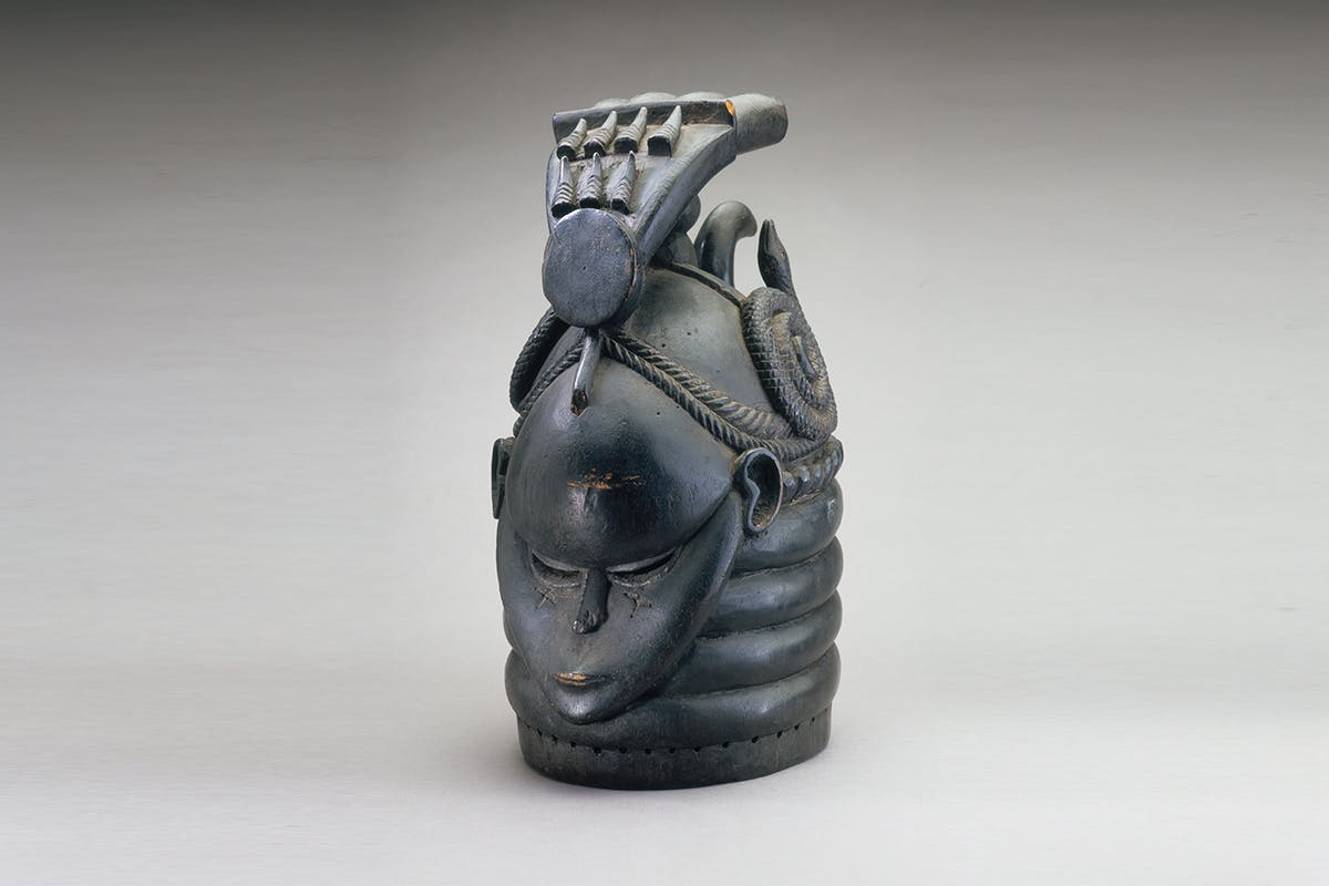 African mask from Sierra Leone