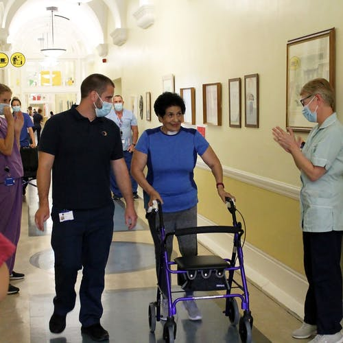 RHN patients and medical staff