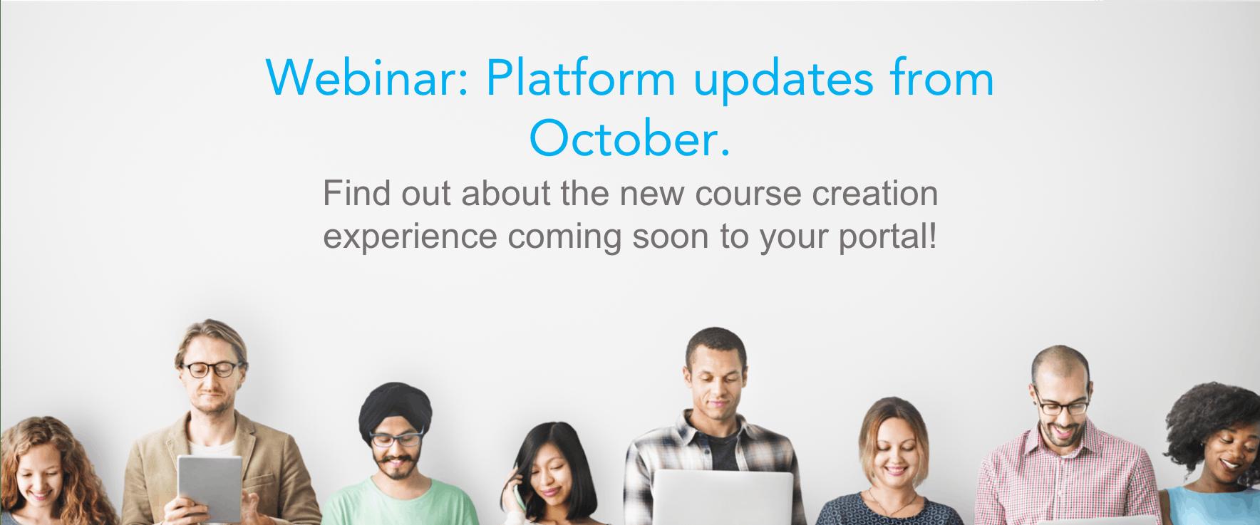 Webinar catchup: GO1 Platform October updates