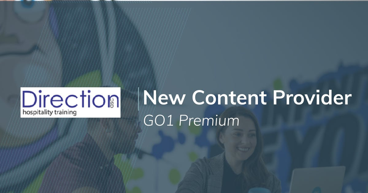 New GO1 Premium provider: Direction Associates