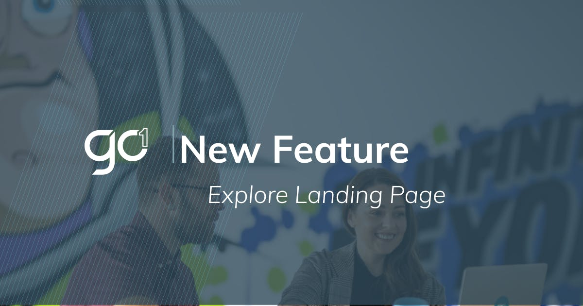 New feature: GO1 Explore Dashboard