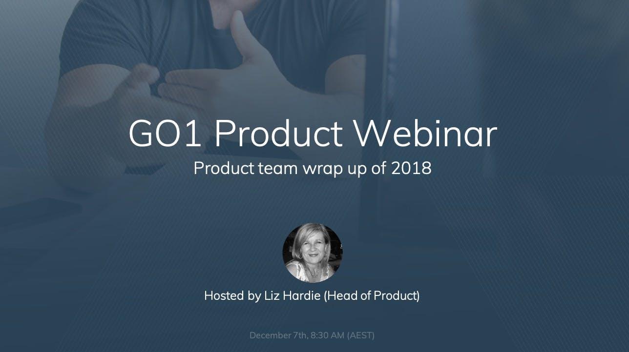 Webinar Catchup: GO1 December platform updates