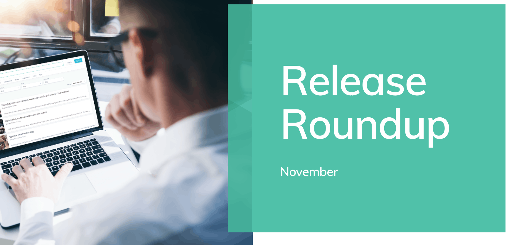 GO1 Product update: catch up on all the exciting new features launching in November 🚀