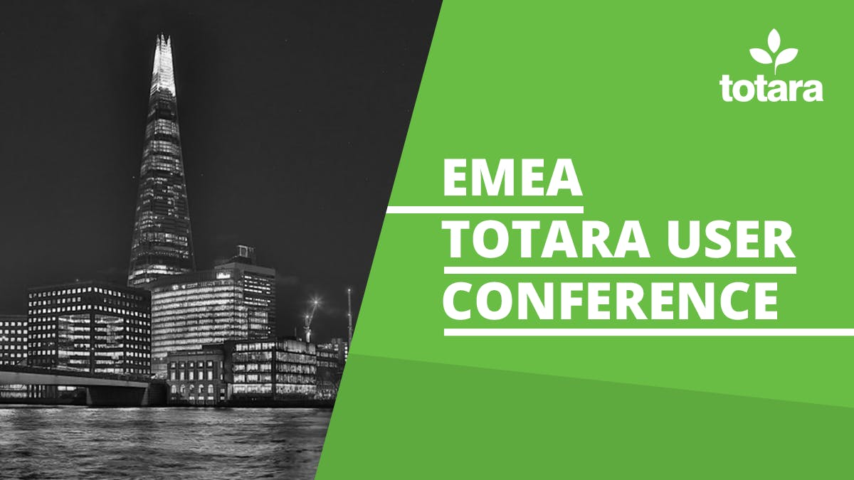 GO1 will be at the EMEA Totara User Conference