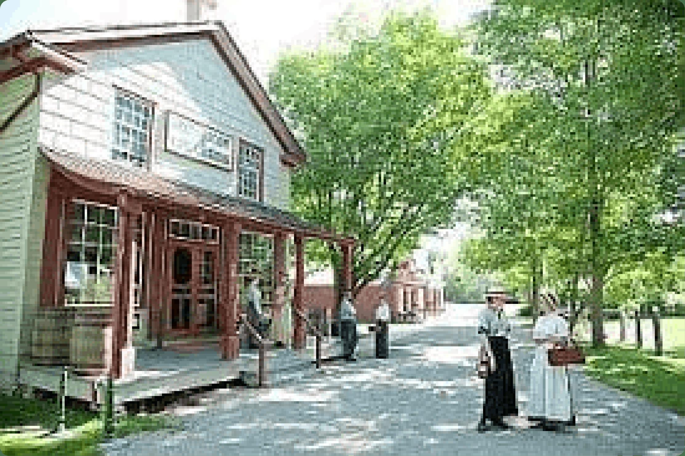 Heritage Village in Kitchener