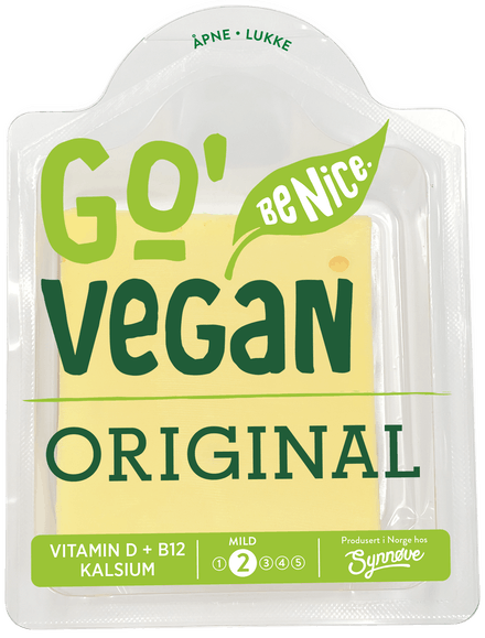Go'Vegan Skivet, Original