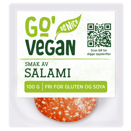 Go'Vegan smak av Salami