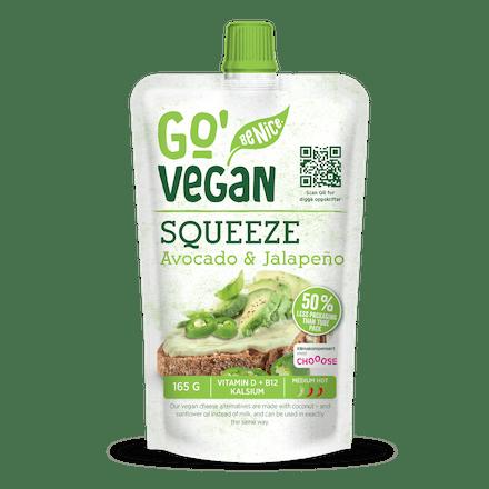 Go'Vegan Squeeze Avocado & Jalapeño