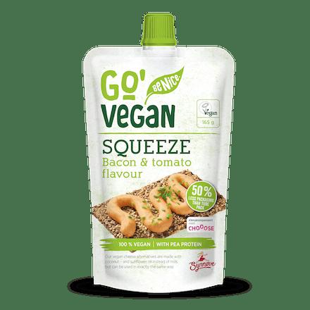 Go'Vegan Squeeze, Bacon & tomato