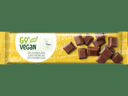 Go'Vegan Lys Sjokolade