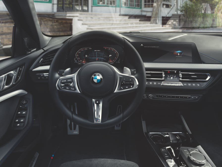 Une voiture connectée