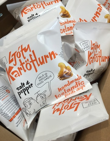 Ugly potatoes bag of chips