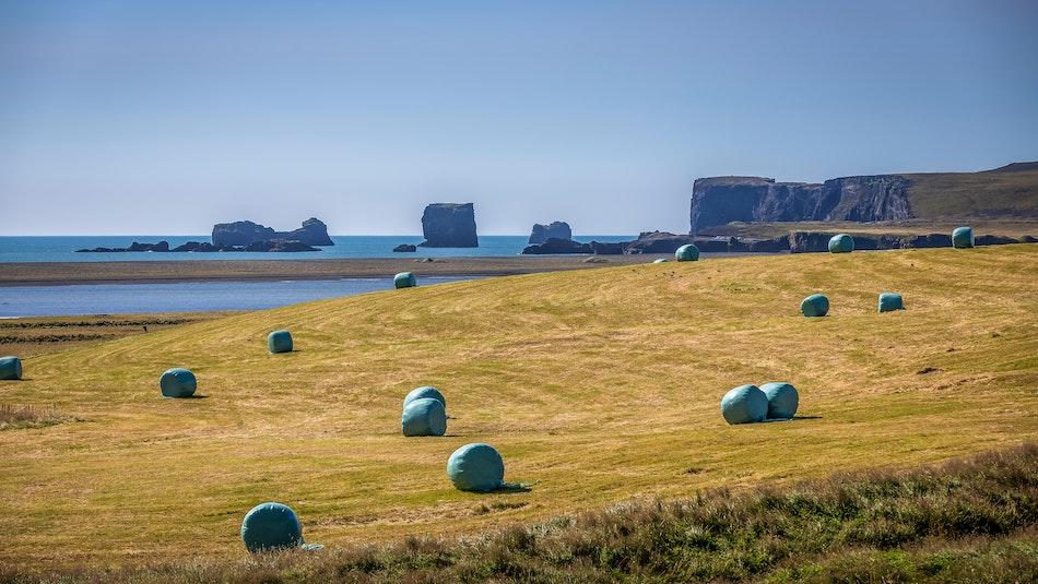 Icelandic farm land