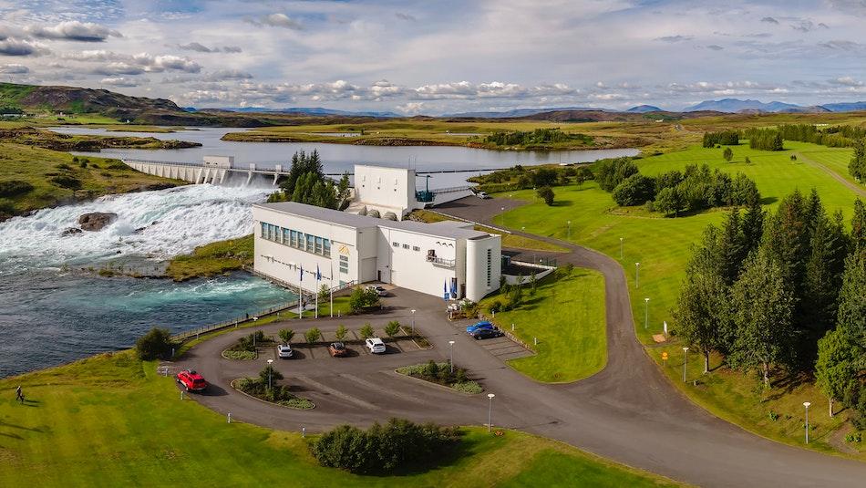 Ljósafoss Hydropower dam, South Iceland. Photo by Ragnar Th Sigurdsson.
