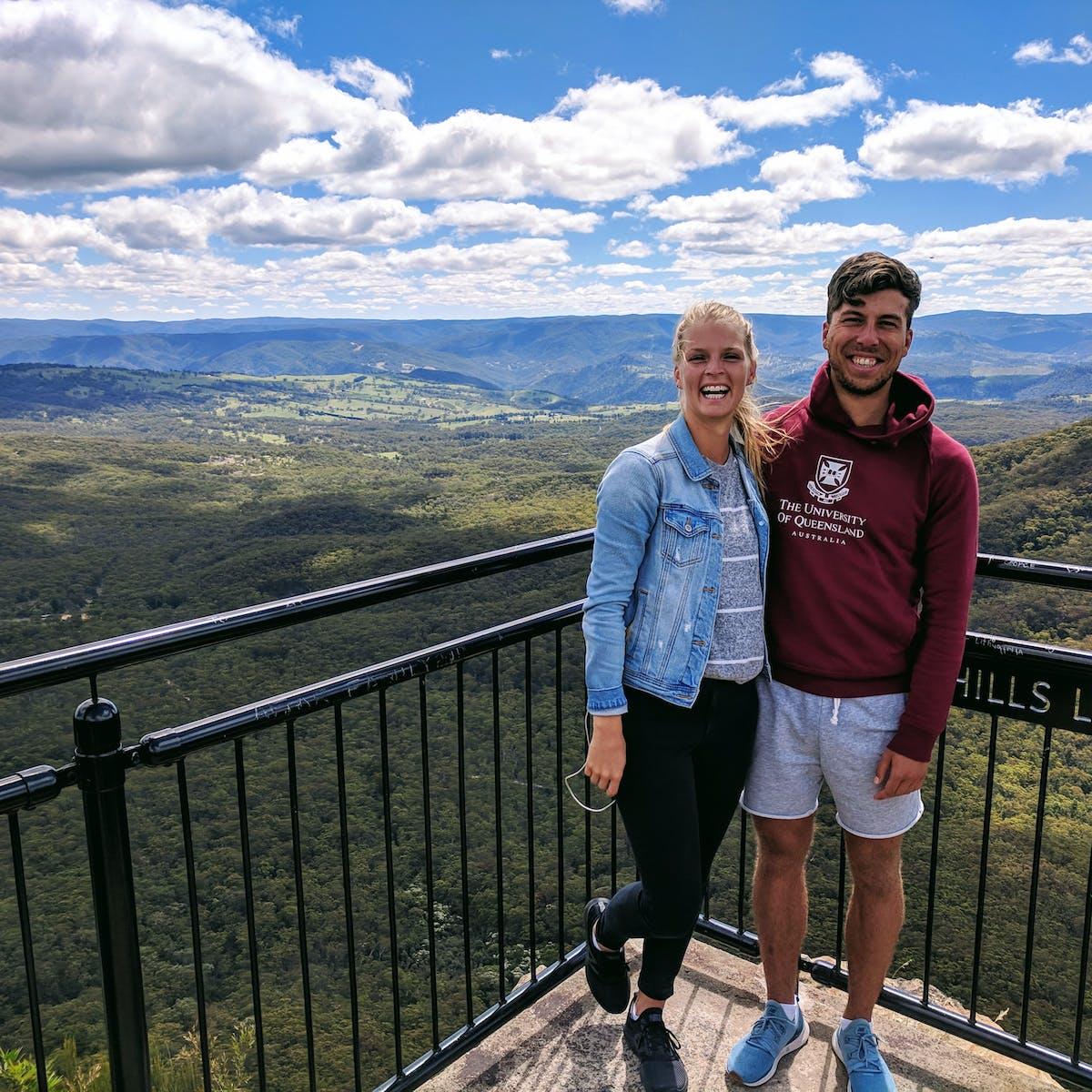 Us in the Blue Mountains, Australia (2018)