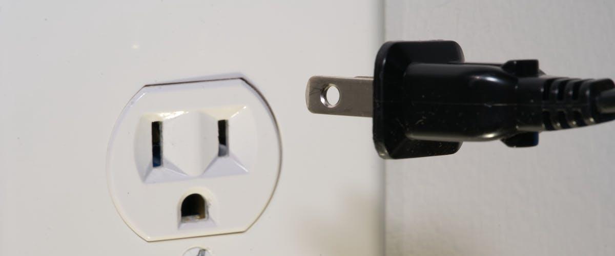 Plug unplugged