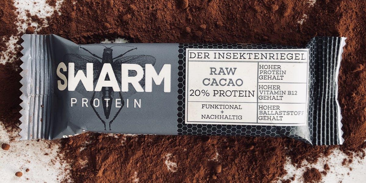 Swarm Protein Raw Cacao Bar