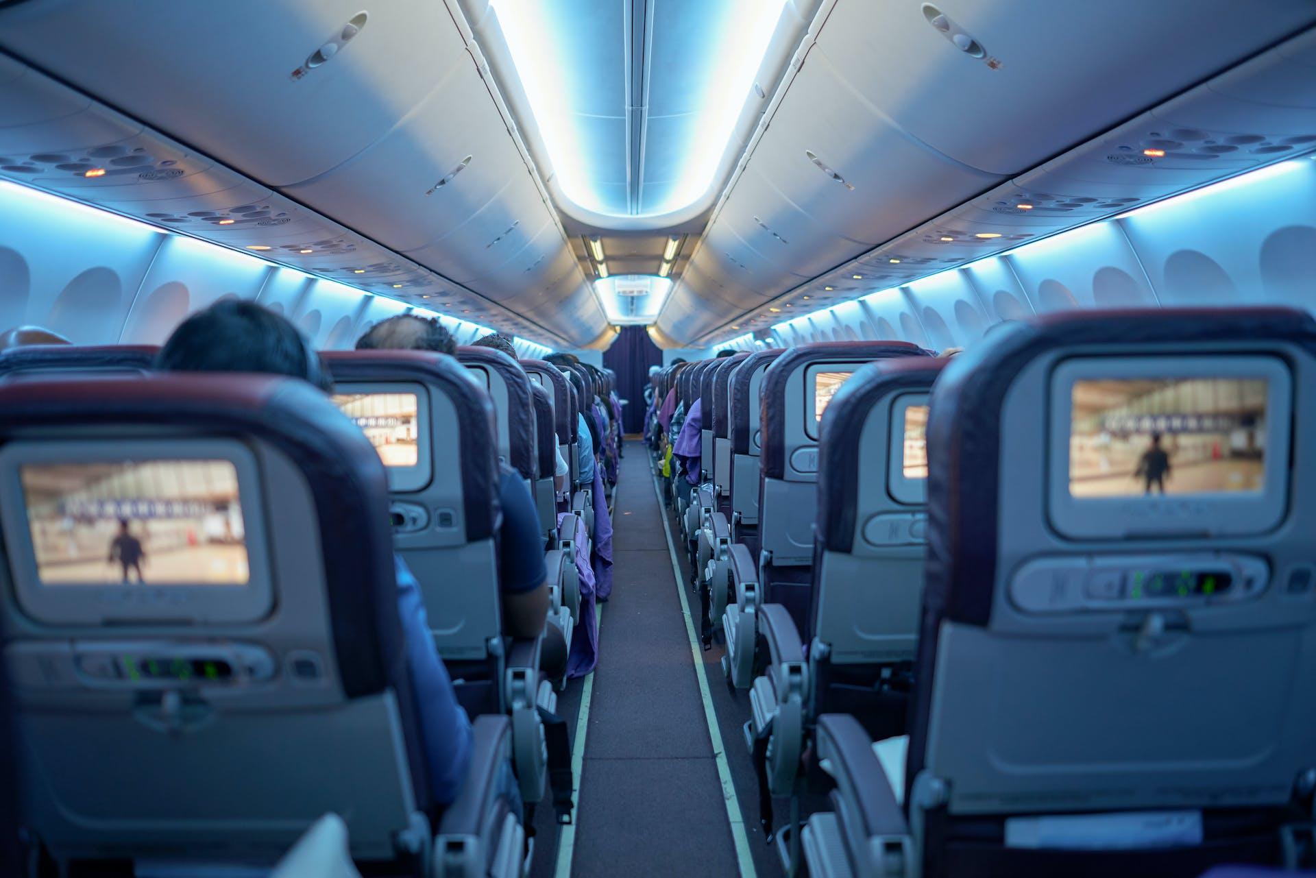 Chartered aircraft offer endless branding opportunities for sponsors.