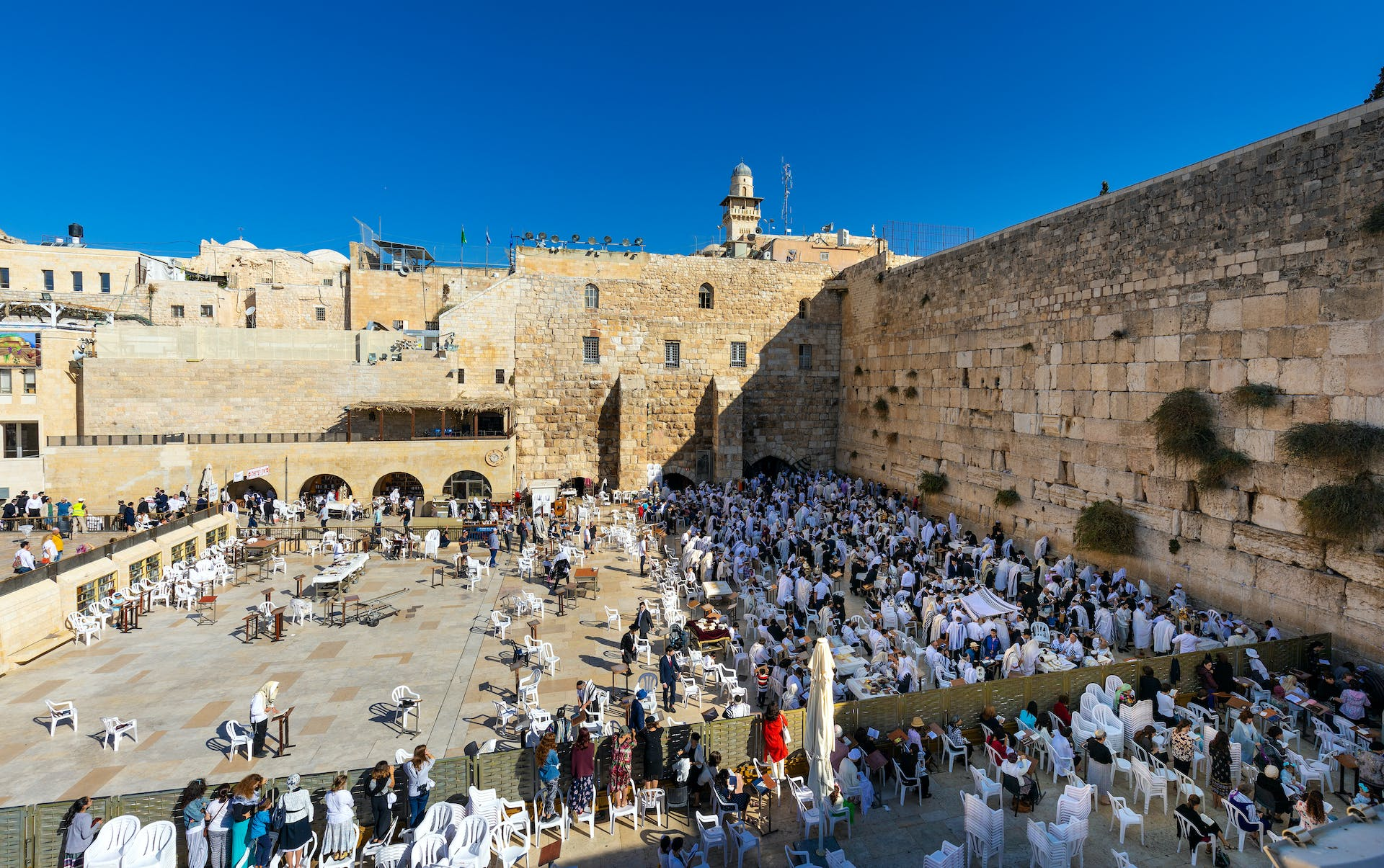 Jerusalem is among the most popular holy destinations for charter flights.