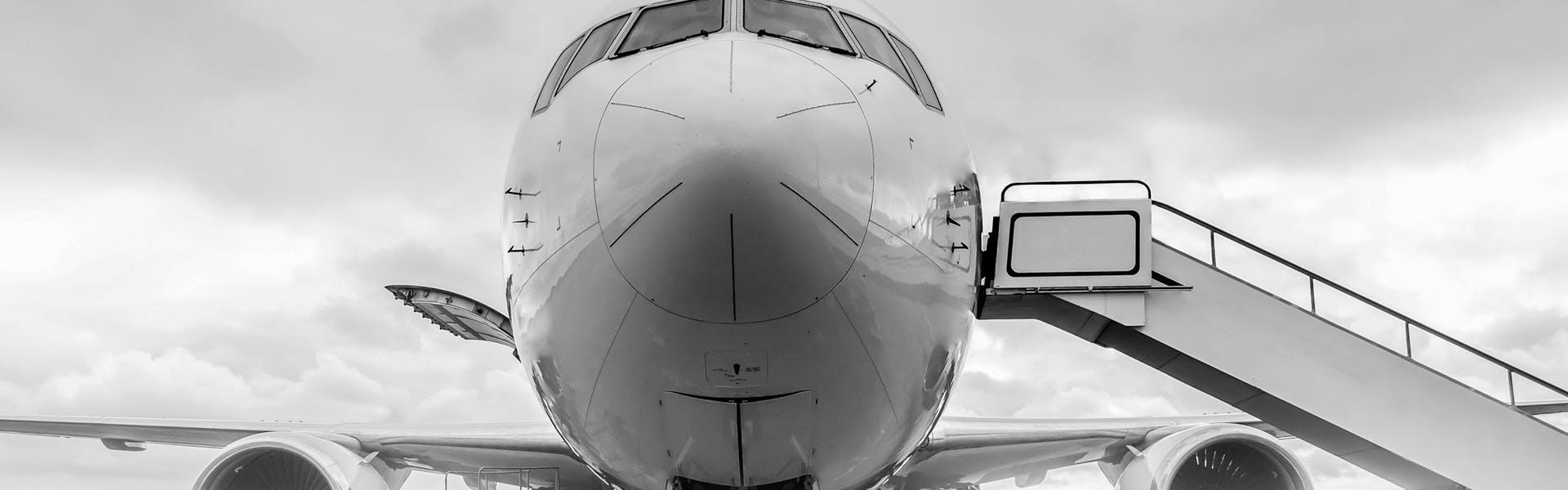 Airbus Aircraft On Tarmac Loading