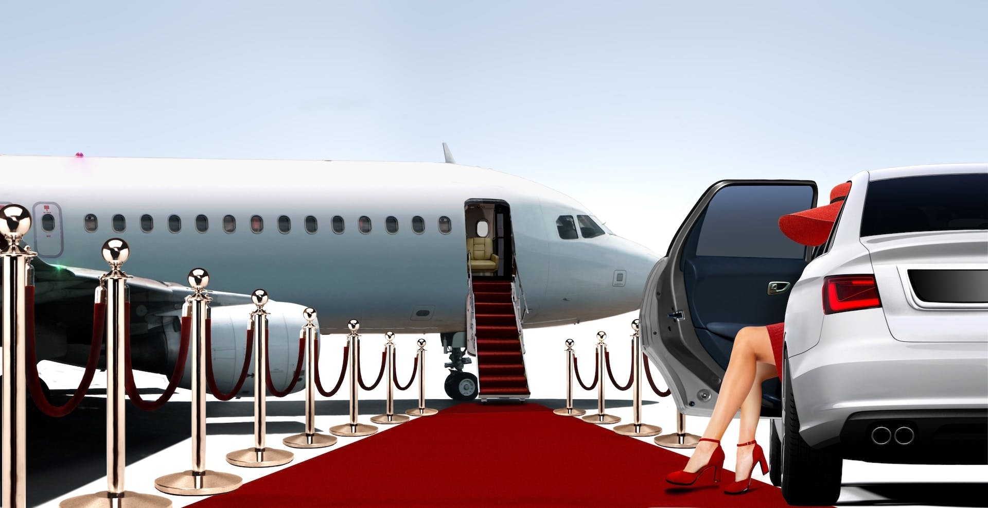Private aviation provides a red-carpet experience for corporate clients.