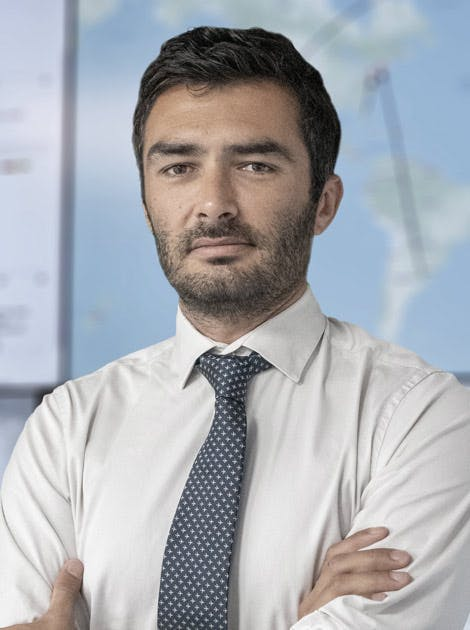 Portrait photo of Mister Remi Aubin, Group Charter Director