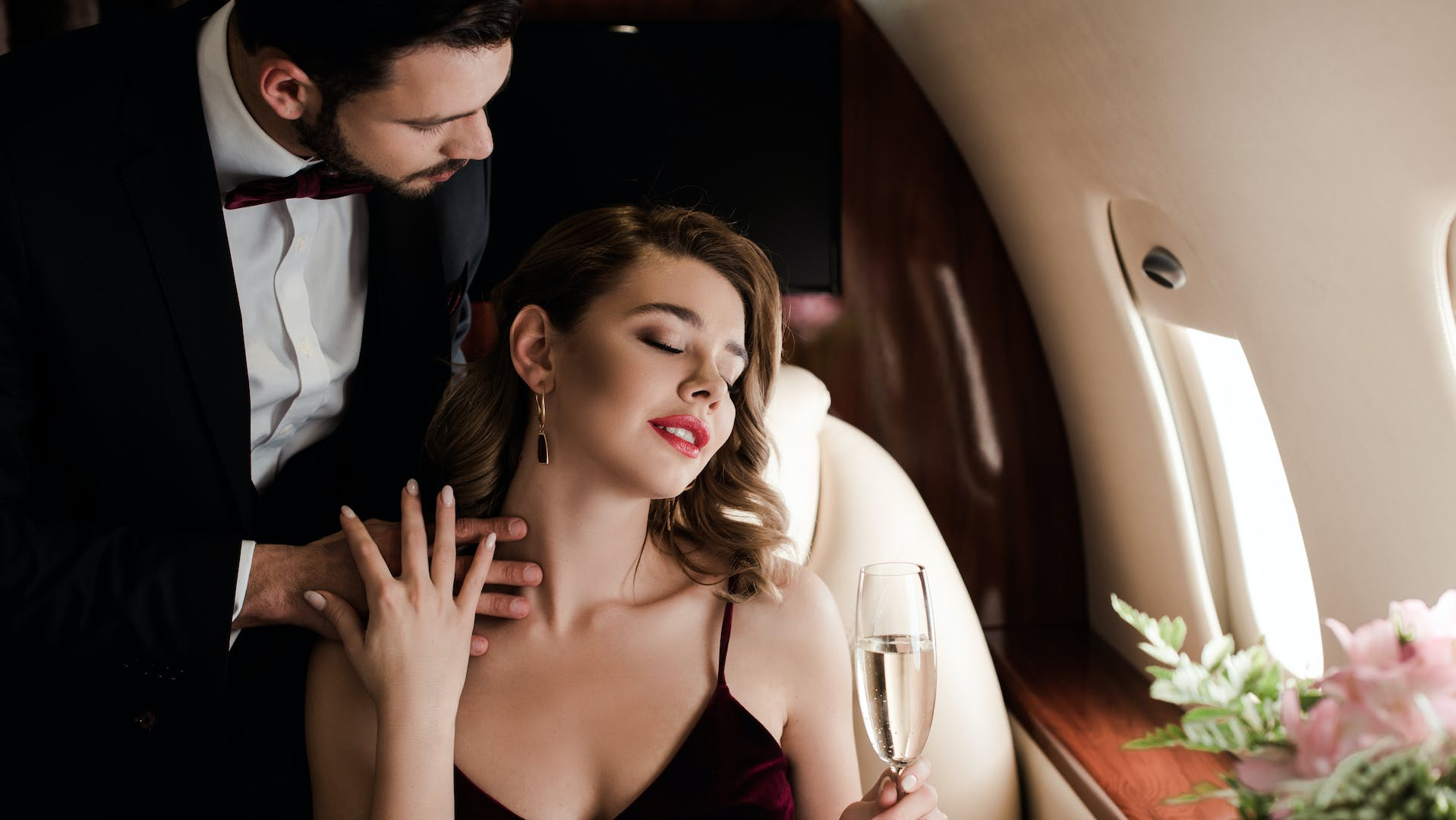 Make the trip as luxurious as the wedding destination when you book a private charter plane.