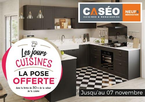 Promo les jours Cuisines Caséo