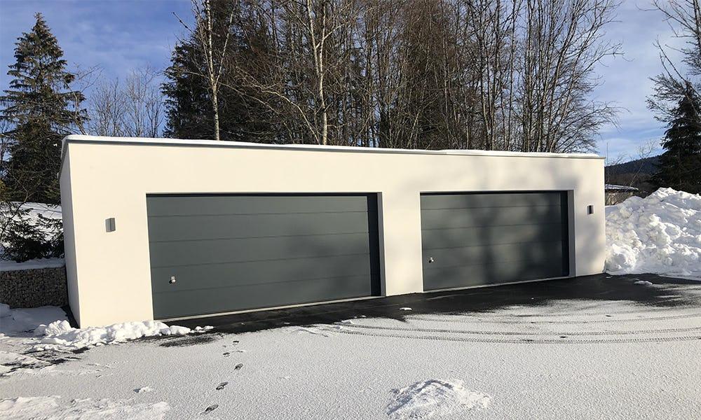 Portes de garage sectionnelles CASEO