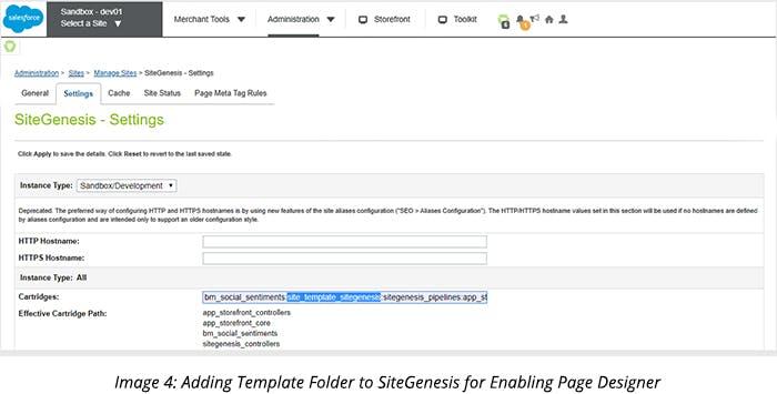 Adding Template Folder to SiteGenesis for Enabling Page Designer