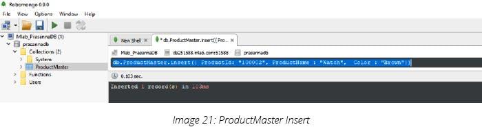 ProductMaster Insert