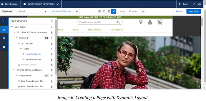 Creating a Page with Dynamic Layout